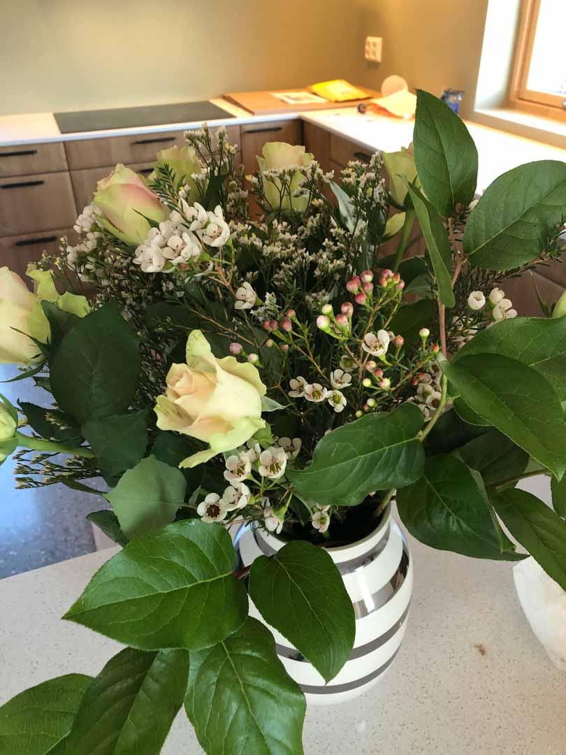 Blomster fra Mesterhus
