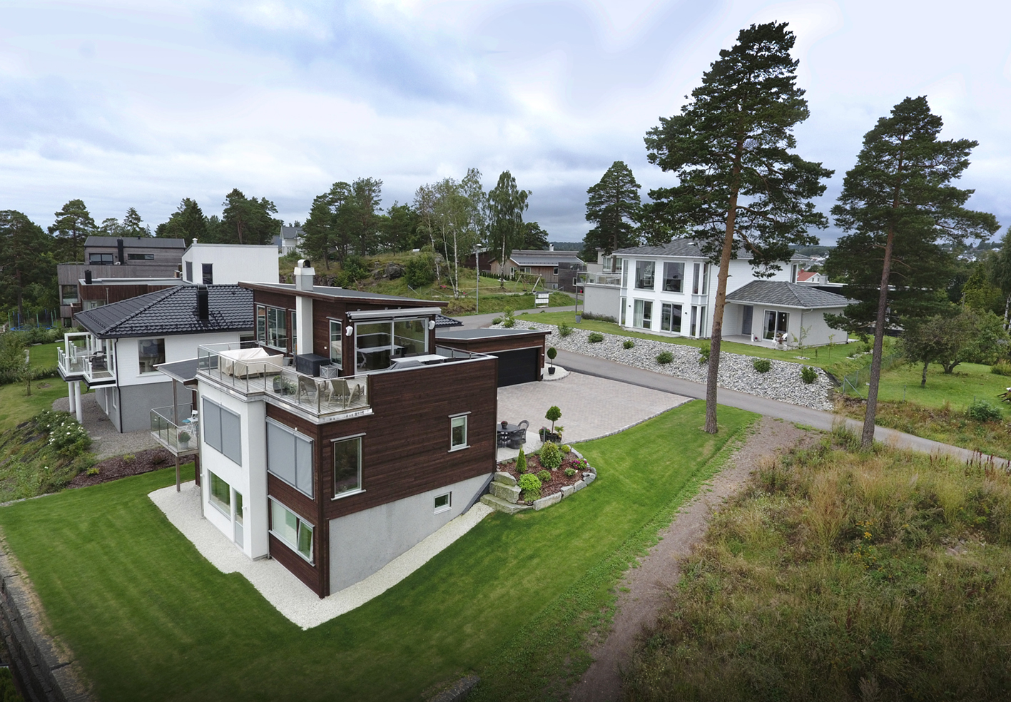 Hus bygget av Mesterhus Tønsberg